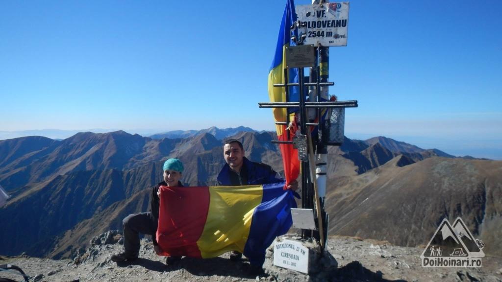 Vârful Moldoveanu (2544m)