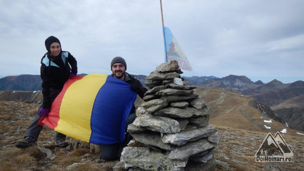 Vârful Hârtopul Darei (2506m)