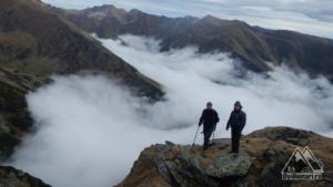 Marea de nori de la Piscu Negru