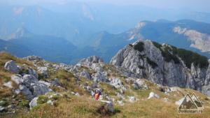 Vedere spre Bosnia, de pe Maglic