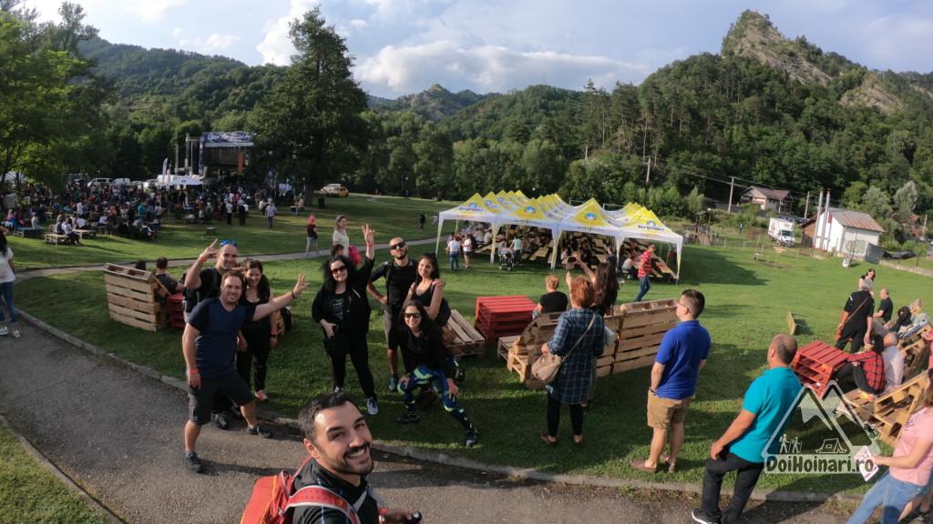 Open Air Blues Festival 2018, și Țurțudanu în dreapta sus