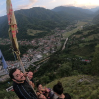De Pe Țurțudanu spre valea Lotrului
