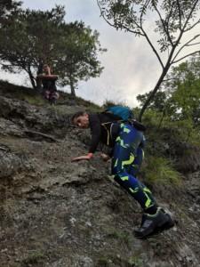 Urcare pe vârful Țurțudanu