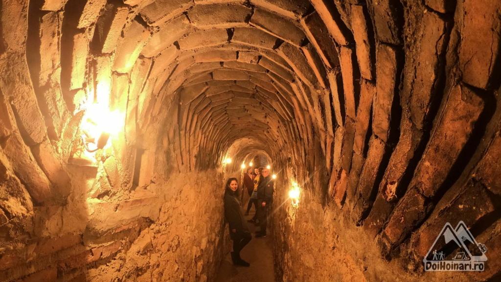 Fântâna Secretă - tunelul de acces