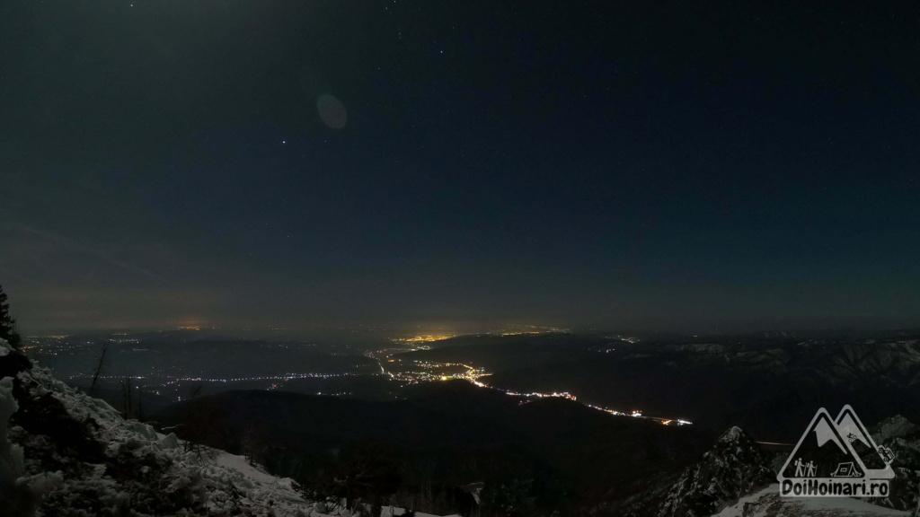Peisaj nocturn - Râmnicu Vâlcea și Călimănești