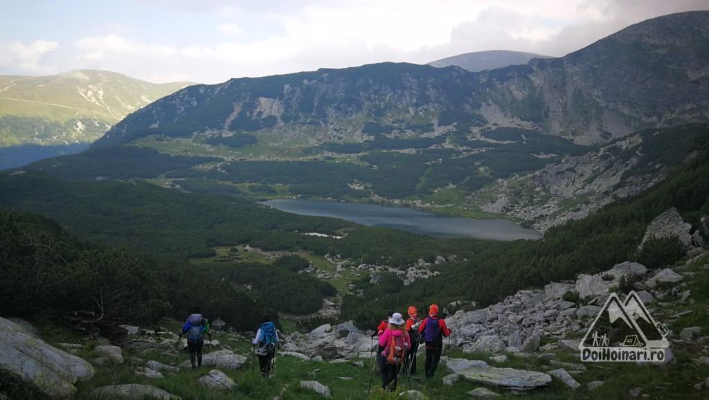 Lacul Câlcescu (cel mai mare lac glaciar din Parâng)