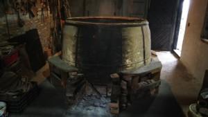 Cuptor pentru ars vasele de lut