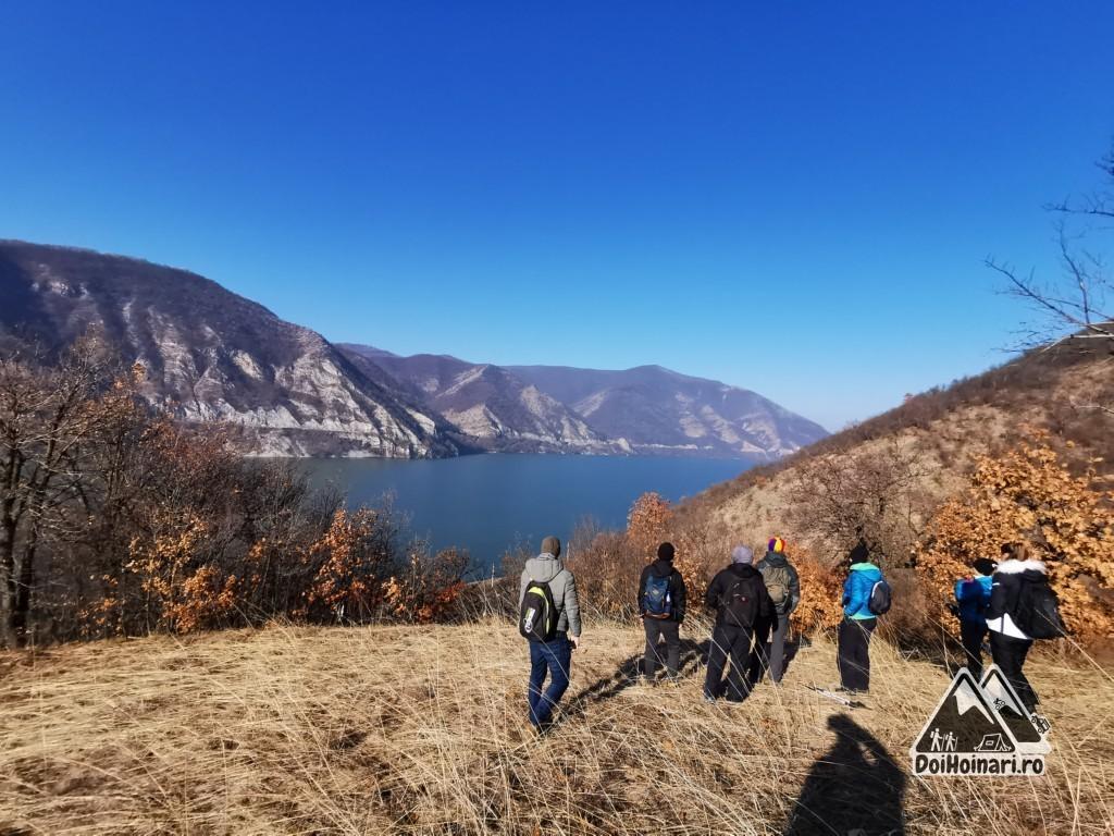 Vârful Trescovăț - vedere spre Dunăre